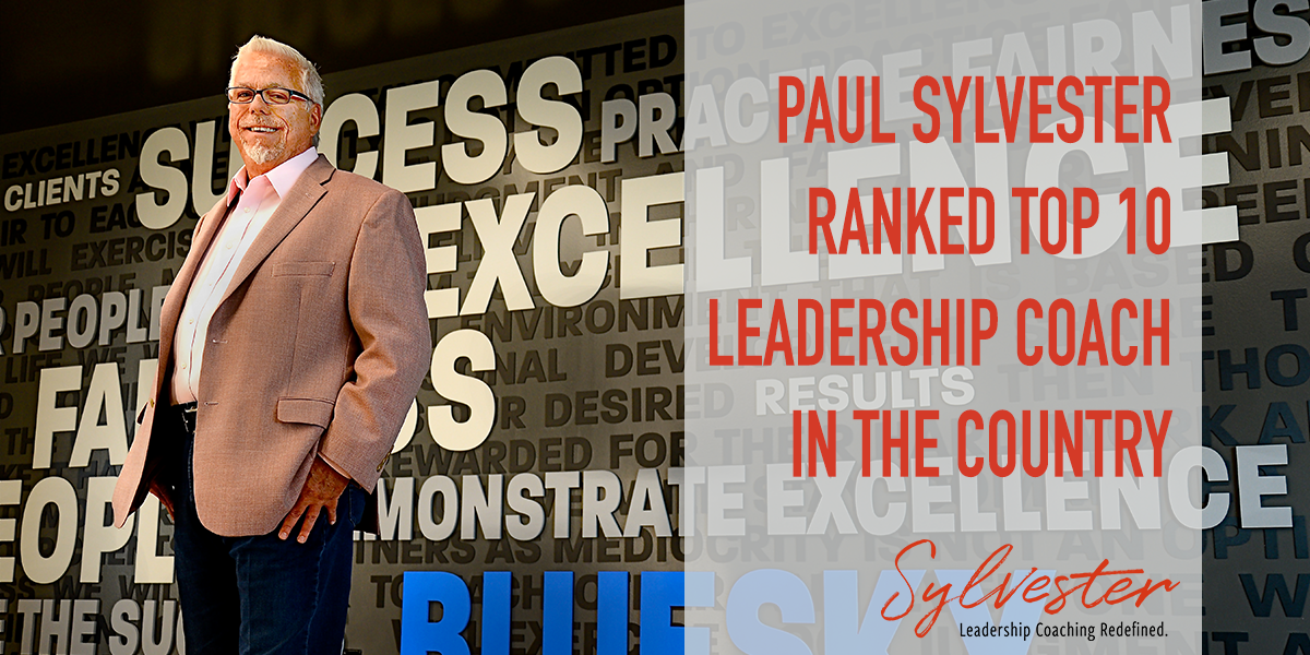 Paul Sylvester Top 10 Leadership Coach in the Country